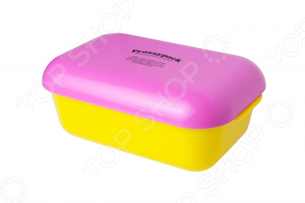 Контейнер охлаждающий Frozzypack Summer Edition. Цвет: вишневый, желтый. Уцененный товар