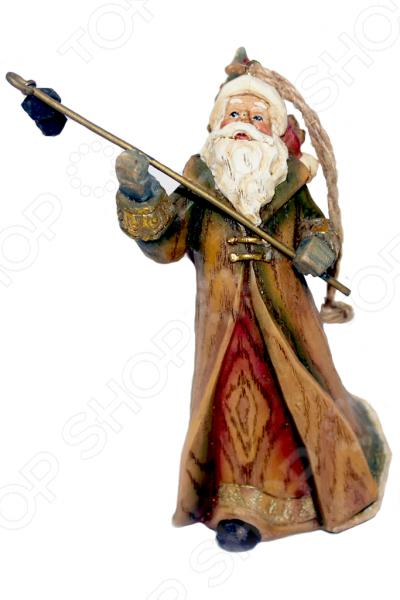 Елочное украшение-подвеска Crystal Deco «Санта» 1707788