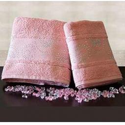 Купить Набор из 2-х полотенец для ванной TURKIZ 2КТ-0022/2 «Пенка»