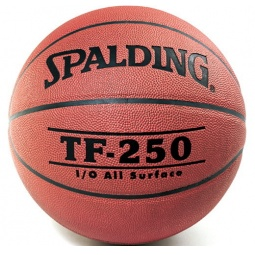 фото Мяч баскетбольный Spalding TF-250 Synthetic Leather. Размер мяча: 6