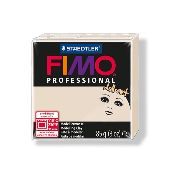фото Пластика для создания кукол Fimo Professional doll art 8027. Цвет: полупрозрачный бежевый