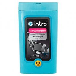 Купить Набор салфеток чистящих Intro для LCD телевизоров и плазменных панелей Intro