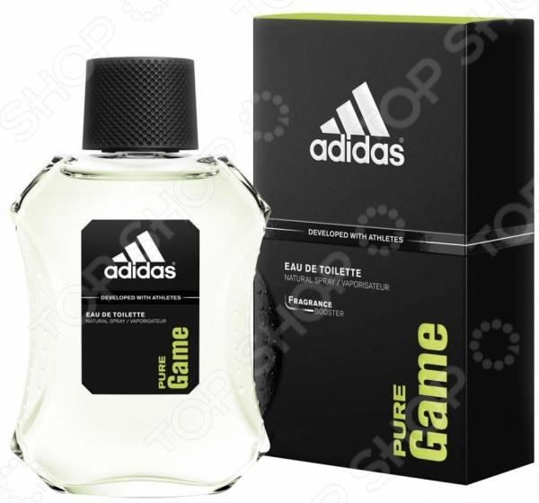 Парфюмированная вода для мужчин Adidas Pure game, 75 мл adidas pure game туалетная вода 100 мл