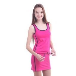 фото Комплект для девочки: топ и юбка Свитанак 606562. Рост: 158 см. Размер: 42