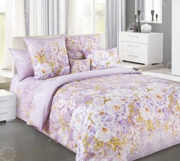 Комплект постельного белья Королевское Искушение «Шиповник-3» комплект постельного белья королевское искушение комплимент ткань перкаль