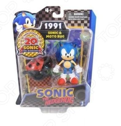 Игрушка-фигурка Sonic Соник и багги мульт культ набор соник и 4 кристалла sonic with chaos emeralds свет 13 см