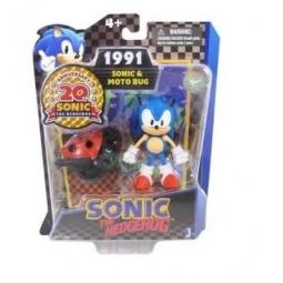 Купить Игрушка-фигурка Sonic Соник и багги