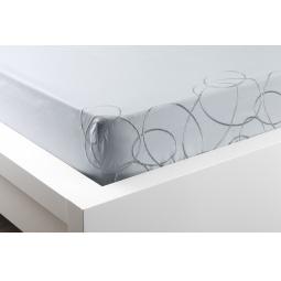 Купить Комплект постельного белья Dormeo Elipse. 2-спальный. Цвет: голубой. Материал: хлопок. Уцененный товар