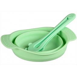 фото Посуда складная POMIDORO «Весна». Цвет: зеленый