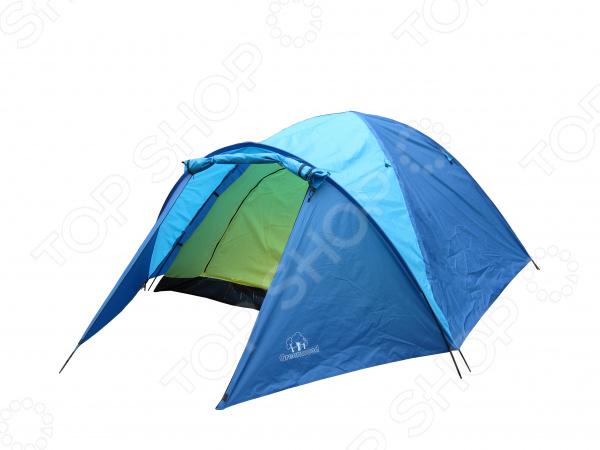 Палатка 4-х местная Greenwood Target 4Палатки<br>Палатка 4-х местная Greenwood Target 4 это прекрасный выбор для любителей активного отдыха, трекинга и турпоходов. Она станет отличным дополнением к набору ваших туристических принадлежностей и поможет сделать отдых максимально комфортным. Тент палатки выполнен из полиэстера с водостойкой пропиткой, а пол из армированного полиэтилена. В качестве материала для внутренней палатки используется дышащий полиэстер, что обеспечивает лучшую вентиляцию и предотвращает скапливание конденсата. Модель снабжена вентиляционным отверстием, проклеенными швами и антимоскитной сеткой.<br>