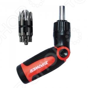 Набор бит с держателем Zipower PM 5120