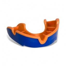 фото Капа одночелюстная подростковая OPRO Junior. Цвет: оранжевый, синий