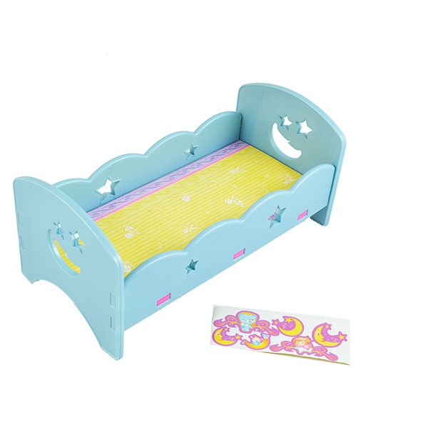 Кроватка для кукол Shantou Gepai сборная 628469. В ассортименте