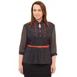 Блузка Grace «Эллада». Цвет: черный