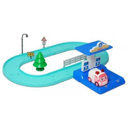 Купить Набор игровой для мальчика Poli «Маленький трек с умной машинкой Эмбер»
