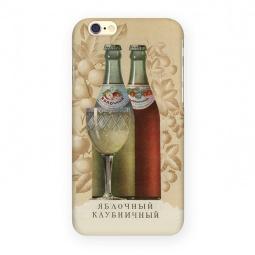 фото Чехол для iPhone 6 Mitya Veselkov «Яблочный - Клубничный»