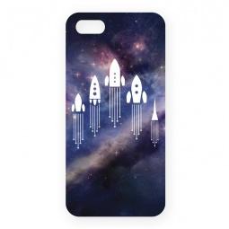 фото Чехол для iPhone 5 Mitya Veselkov «Ракеты в космосе»