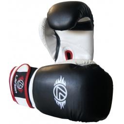фото Перчатки боксерские Larsen PS-796. Вес в унциях: 8