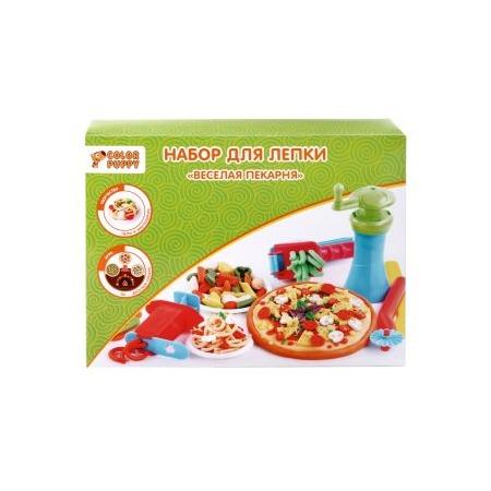 Купить Набор для лепки из пластилина Color Puppy «Веселая пекарня»