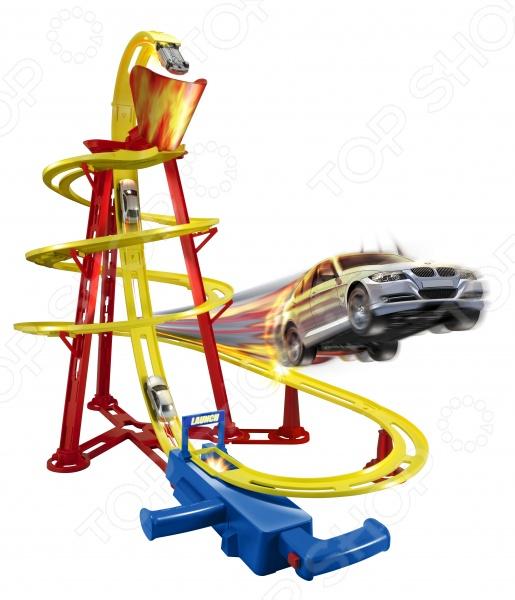 Трек HTI «Вулкан»Игровые наборы для мальчиков<br>Трек HTI Вулкан станет отличным подарком для юных любителей автомобильных гонок. Специальная пусковая установка позволяет отправлять автомобиль по замкнутой извилистой трассе длиной 3.8 метра, возвращая его обратно на старт. Все элементы выполнены из высококачественных нетоксичных материалов, поэтому полностью безопасны для детей.<br>