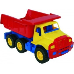 фото Самосвал игрушечный Нордпласт «Мишка» 06170