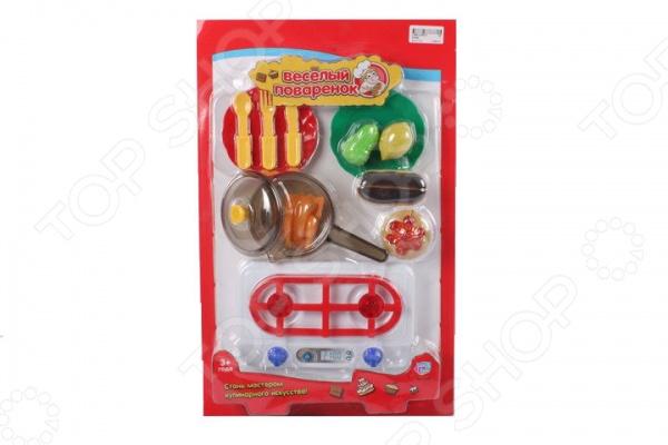 Игровой набор для девочки PlaySmart «Веселый поваренок» Р41451 набор игровой сковородка и посуда пластик