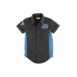 Купить Рубашка с коротким рукавом Appaman Harald Shirt. Цвет: серый
