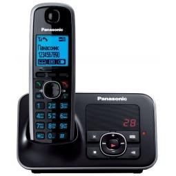 фото Радиотелефон Panasonic KX-TG6621. Цвет: черный