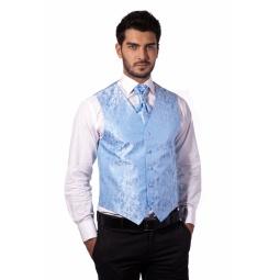 фото Жилет Mondigo 20493. Цвет: голубой. Размер одежды: XL