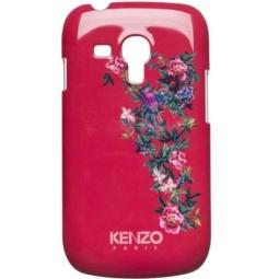 фото Чехол Kenzo Exotic Cover для Samsung S3 Mini. Цвет: красный