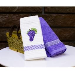 Купить Комплект из 2-х кухонных полотенец Mariposa Grapes