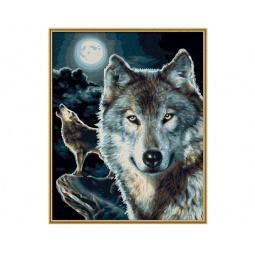 Купить Набор для рисования по номерам Schipper «Волки»