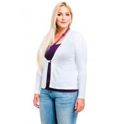 фото Жакет Mondigo XL 426. Цвет: белый. Размер одежды: 50
