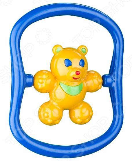 Игрушка-погремушка Аэлита «Медвежонок Топ»Погремушки. Подвески<br>Игрушка-погремушка Аэлита Медвежонок Топ станет отличным приобретением для вашего крохи. Игры с ней будут способствовать развитию у детей мелкой моторики рук, координации движений, хватательного рефлекса и сенсорного восприятия. Погремушка выполнена в ярких красочных цветах из высококачественных нетоксичных материалов. Ее края закруглены во избежание травмирования ребенка. Предназначено для детей в возрасте от 3-х месяцев.<br>