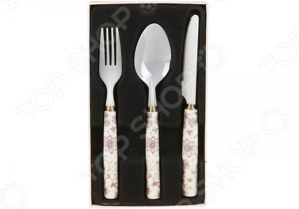 Набор столовых приборов POMIDORO R0306 Nobile Bianco