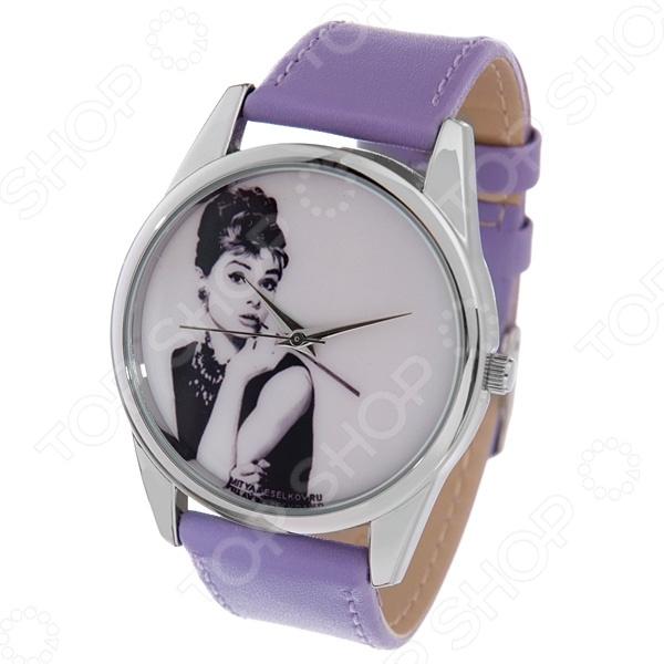 Часы наручные Mitya Veselkov «Одри курит» Color часы наручные mitya veselkov райский сад color