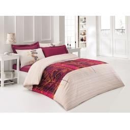 фото Комплект постельного белья Tete-a-Tete «Кармин». 1,5-спальный