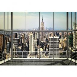 фото Фотообои ARD Maximage «Вид Нью-Йорка из офиса небоскреба»