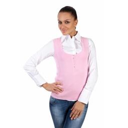 фото Жилет Mondigo 9402. Цвет: бледно-розовый. Размер одежды: 42