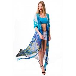 фото Платье-туника Mondigo 5102. Цвет: бирюзовый. Размер одежды: 48