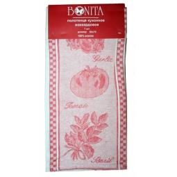фото Полотенце BONITA «Помидор, базилик, чеснок». Цвет: красный