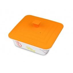 фото Форма для выпечки квадратная с крышкой Oursson. Цвет: оранжевый