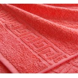 фото Полотенце махровое Asgabat Dokma Toplumy. Размер: 40х70 см. Цвет: коралловый