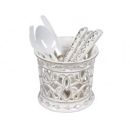 Купить Набор столовых приборов POMIDORO R0702 Nobile Bianco