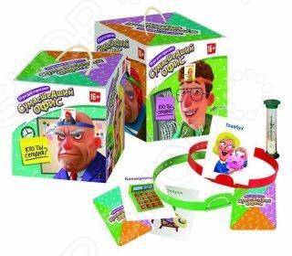 Игра настольная развивающая Биплант «Сумасшедший офис» настольные игры биплант настольная игра классики 10032