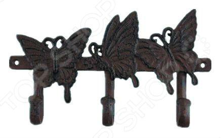Zakazat.ru: Вешалка декоративная GREEN APPLE GBL2-12-12 «Бабочки»