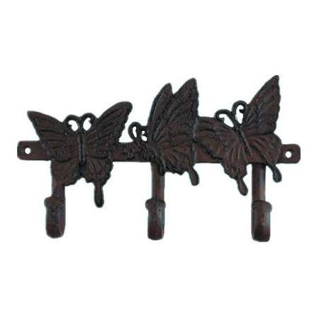 Купить Вешалка декоративная GREEN APPLE GBL2-12-12 «Бабочки»