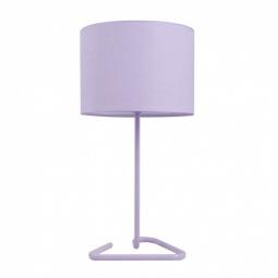 фото Лампа настольная Бюрократ HL-1. Цвет плафона: лавандовый. Рисунок: нет