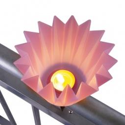фото Подсвечник для балкона MyBalconia Potpourrilight. Цвет: фиолетовый