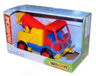 Фото - Машинка игрушечная POLESIE «Базик эвакуатор» полесье игрушечная тележка supermarket 1 с набором продуктов цвет в ассортименте